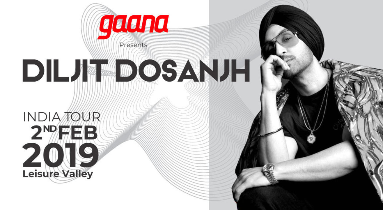 Gaana Presents - Diljit Dosanjh – India Tour