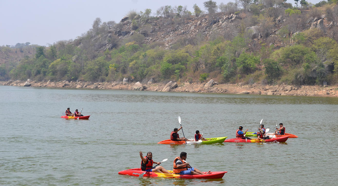Savandurga Sunrise Trek With Kayaking | Escape2Explore