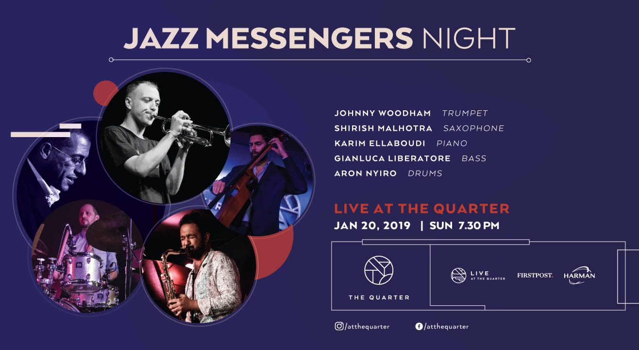 Jazz Messengers Night at The Quarter