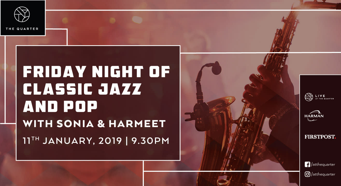 A Night of the Classics with Harmeet and Sonia at The Quarter