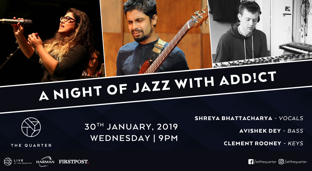 A Night of Jazz with ADD!CT at The Quarter