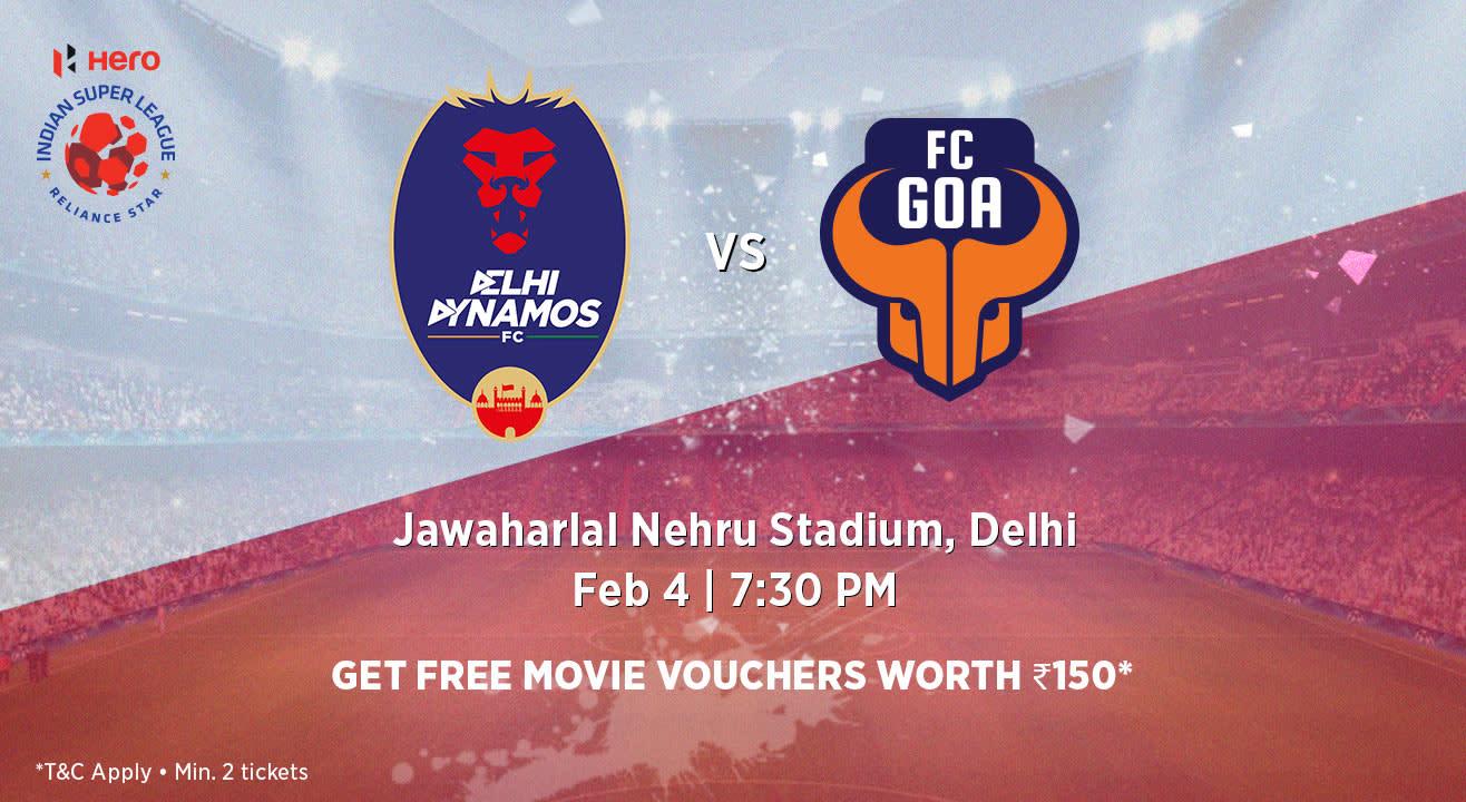 Hero Indian Super League 2018-19: Delhi Dynamos FC vs FC Goa