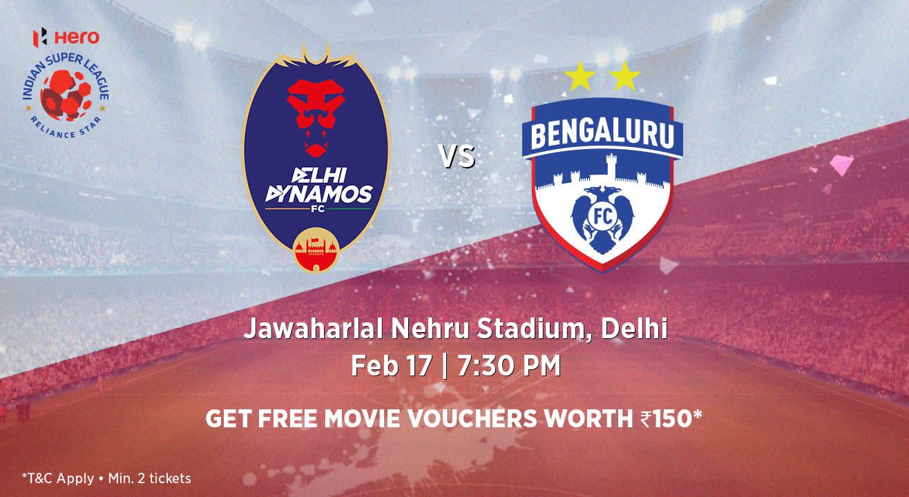 Hero Indian Super League 2018-19: Delhi Dynamos FC vs Bengaluru FC