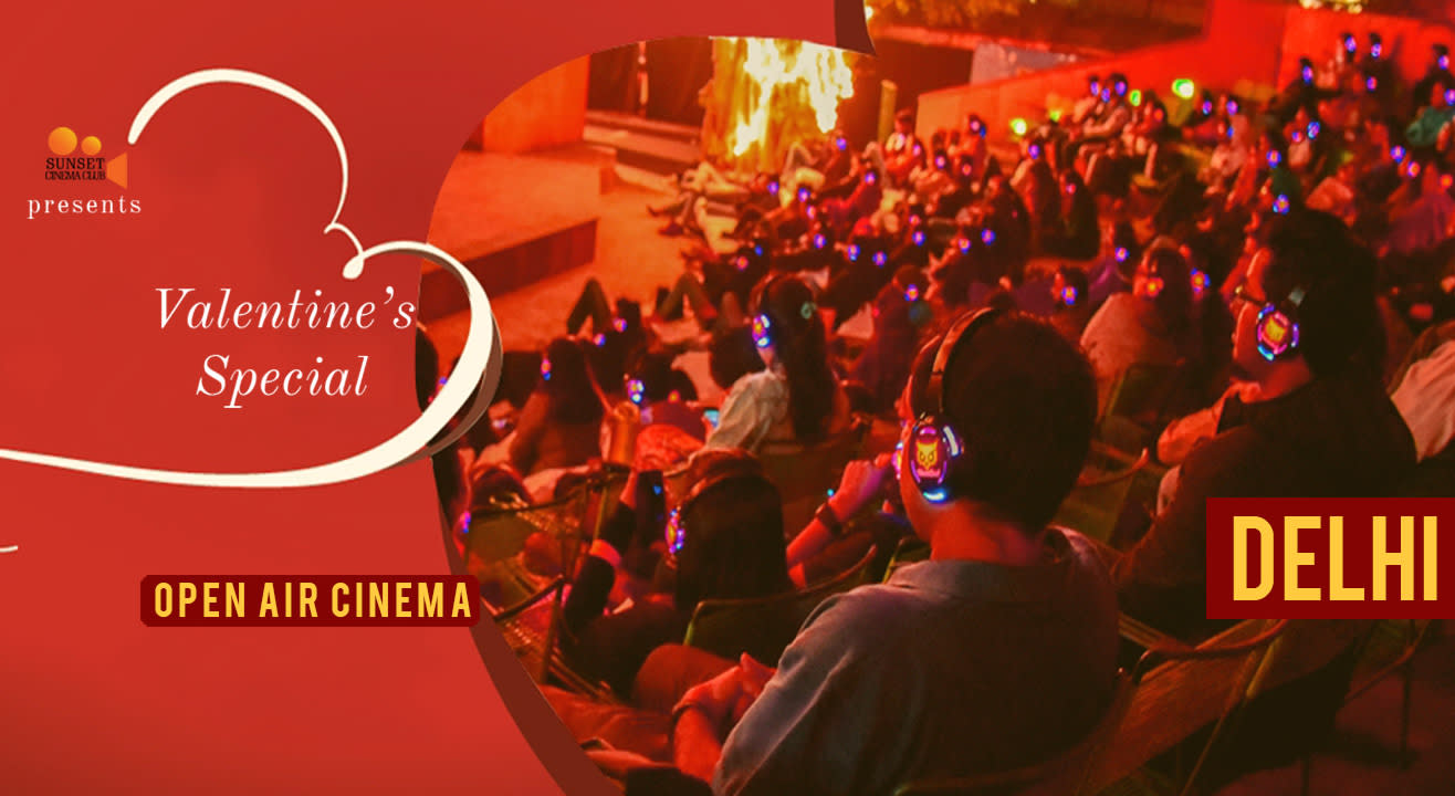 Open Air Cinema - Valentine's Weekend