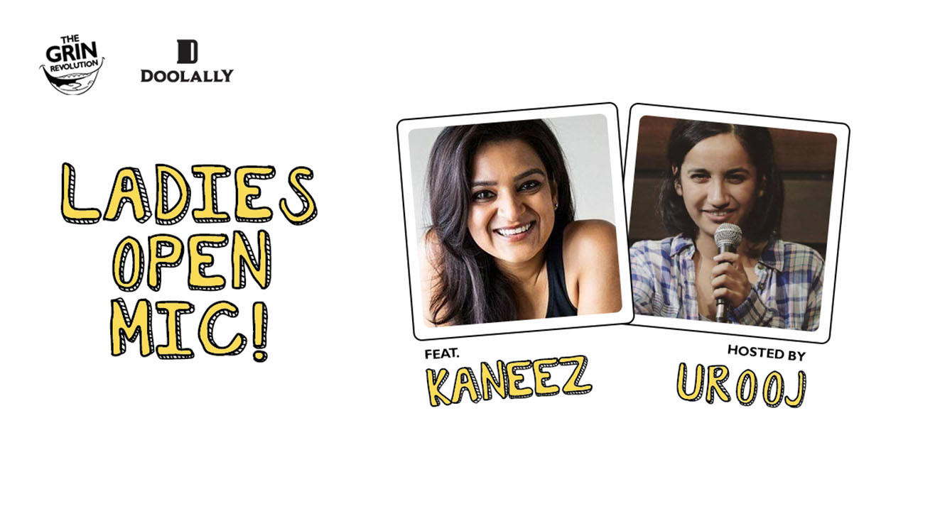 Grin Revolution: Ladies Open Mic w/ Kaneez & Urooj