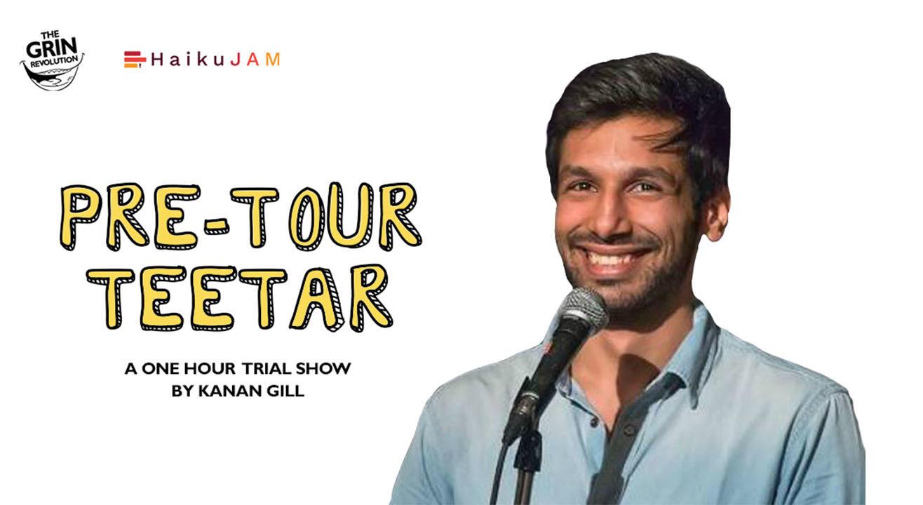 Grin Revolution: Pre-Tour Teetar w/ Kanan Gill