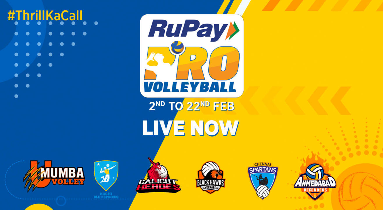 RuPay Pro Volleyball League 2019