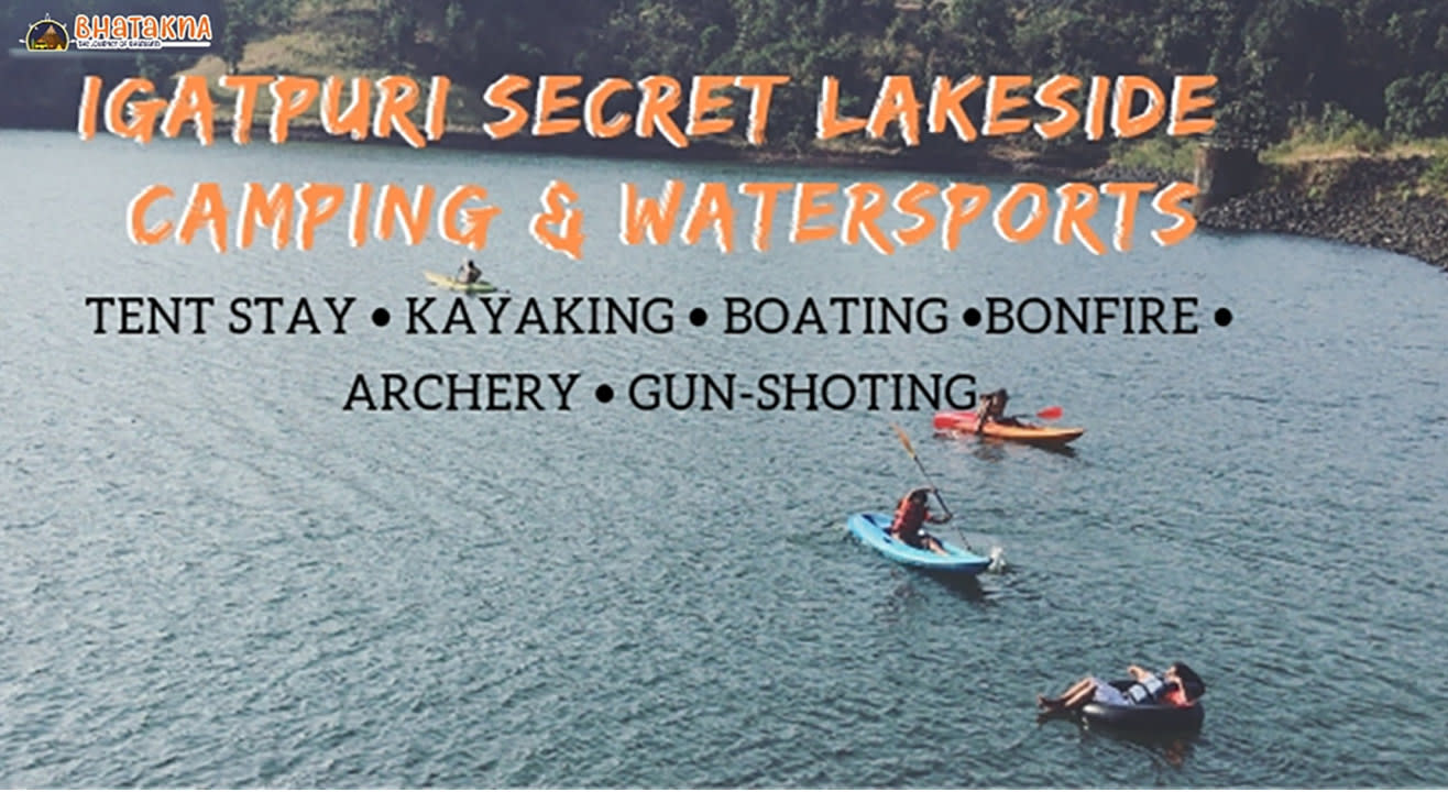 Igatpuri secret lakeside camping & watersports