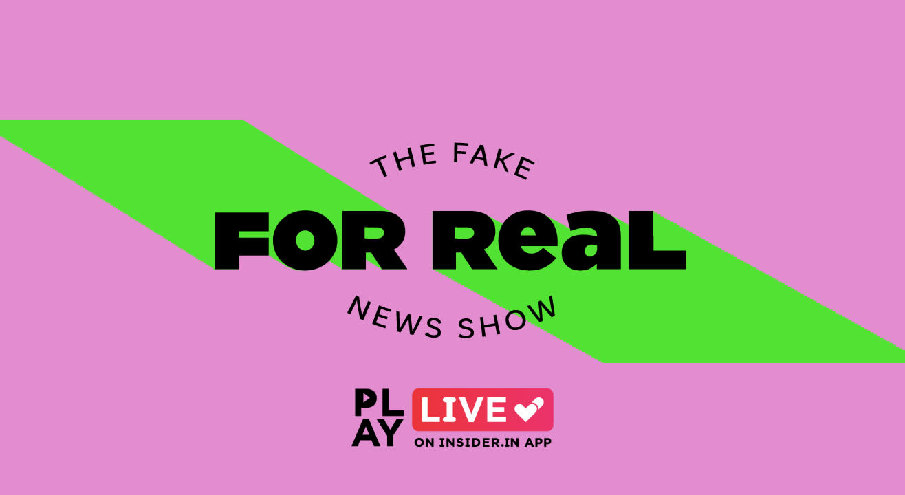 For Real: Play it live on Insider.in App