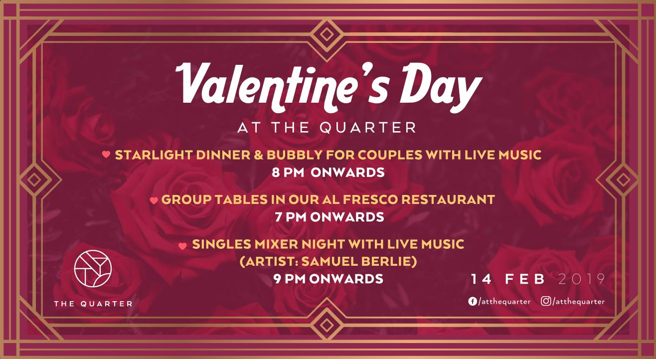 Valentine's Day at The Quarter