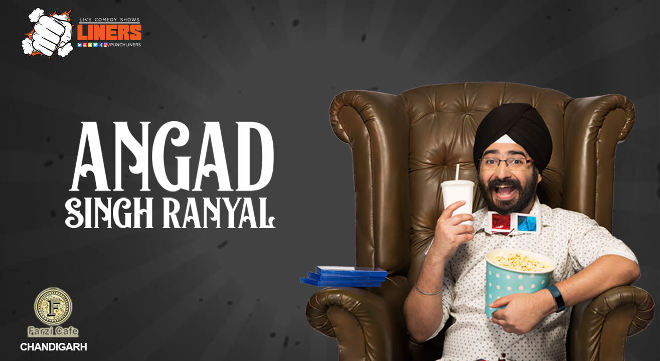 Punchliners Comedy Show Ft Angad Singh ranyal in Chandigarh