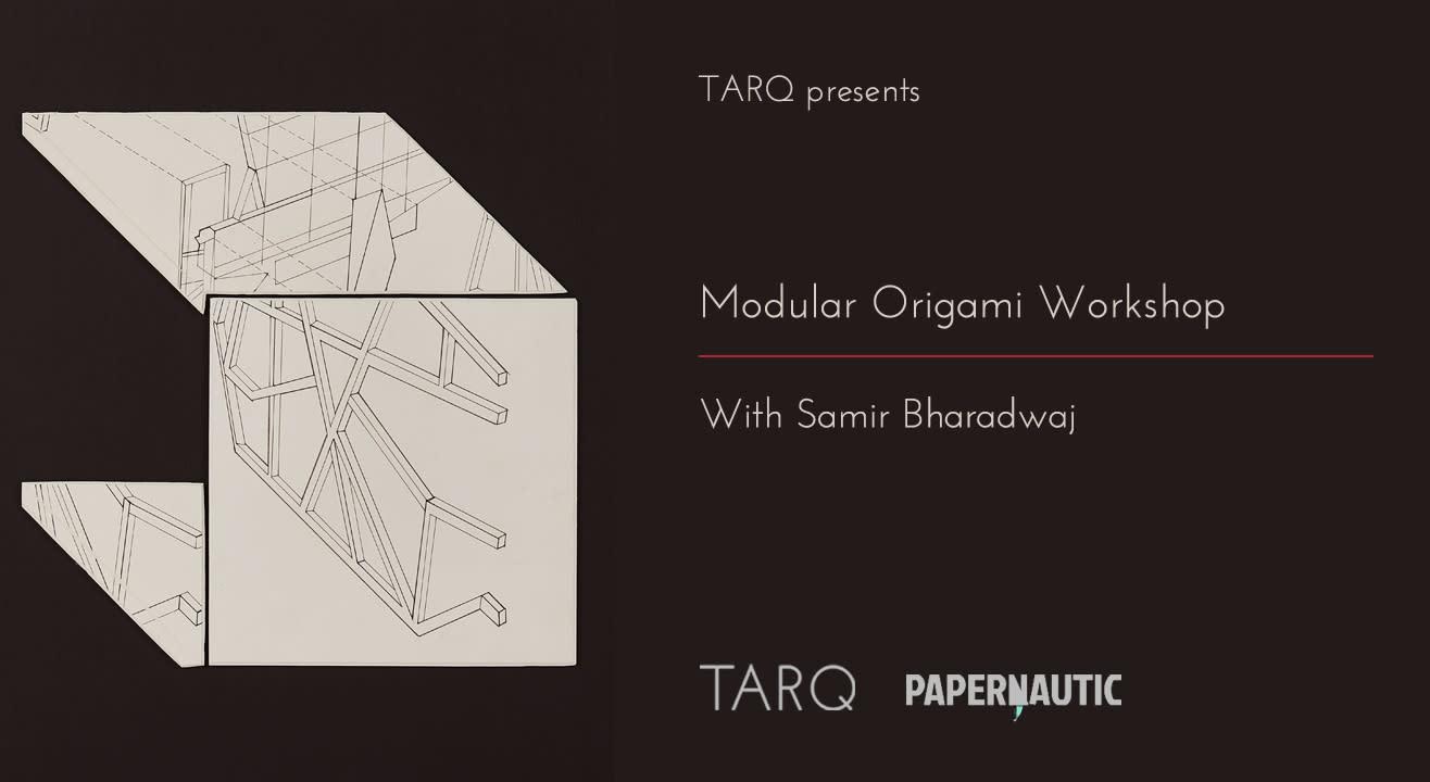 Imagined Architecture through Modular Origami