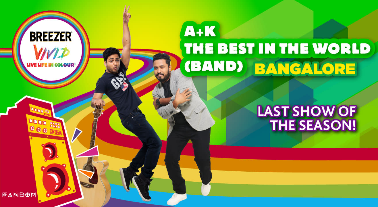 Breezer Vivid A+ K Tour - The Best In The World (Band) - Bangalore