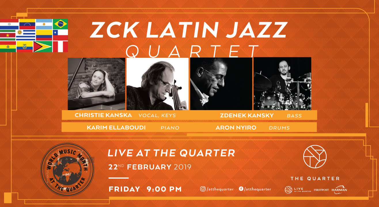 ZCK Latin Jazz Quartet at The Quarter