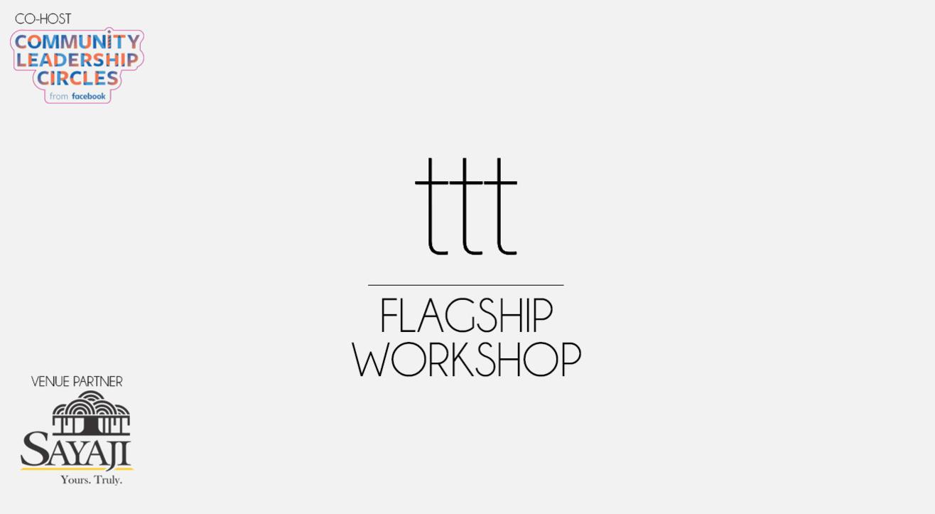 Terribly Tiny Tales – Flagship Workshop