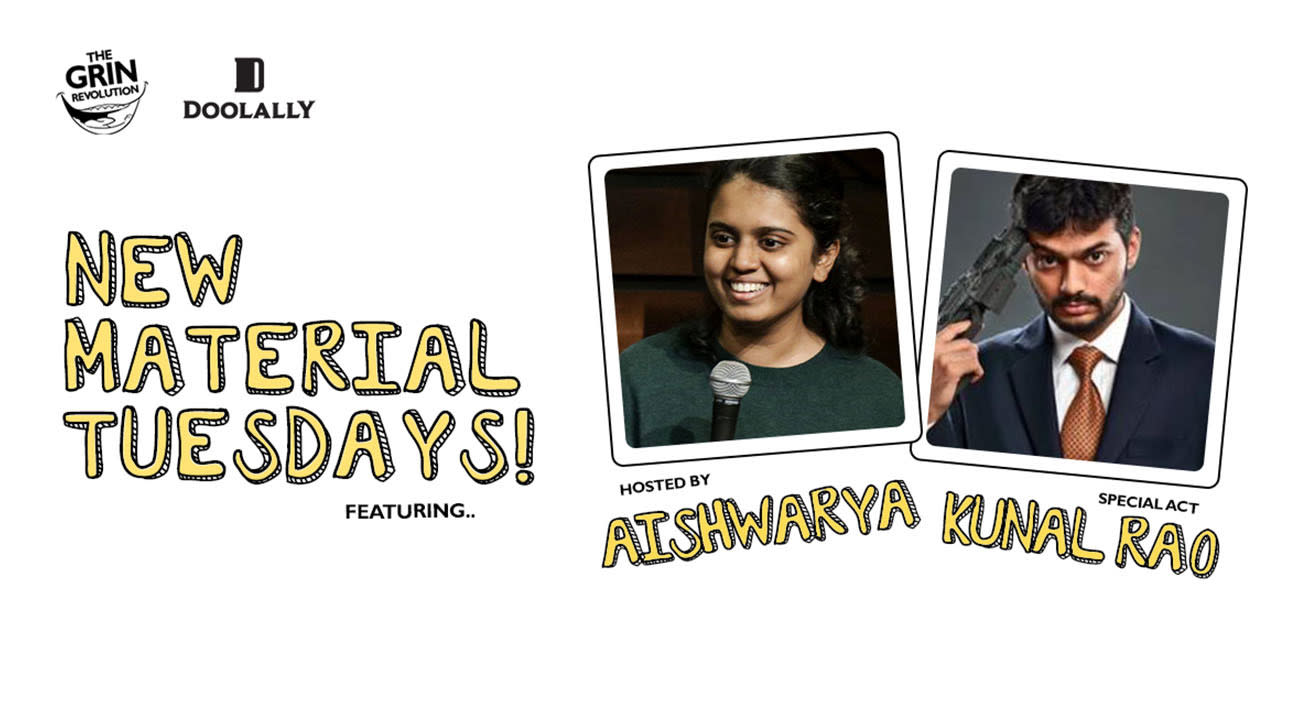 Grin Revolution: New Material Tuesdays w/ Aishwarya Mohanraj