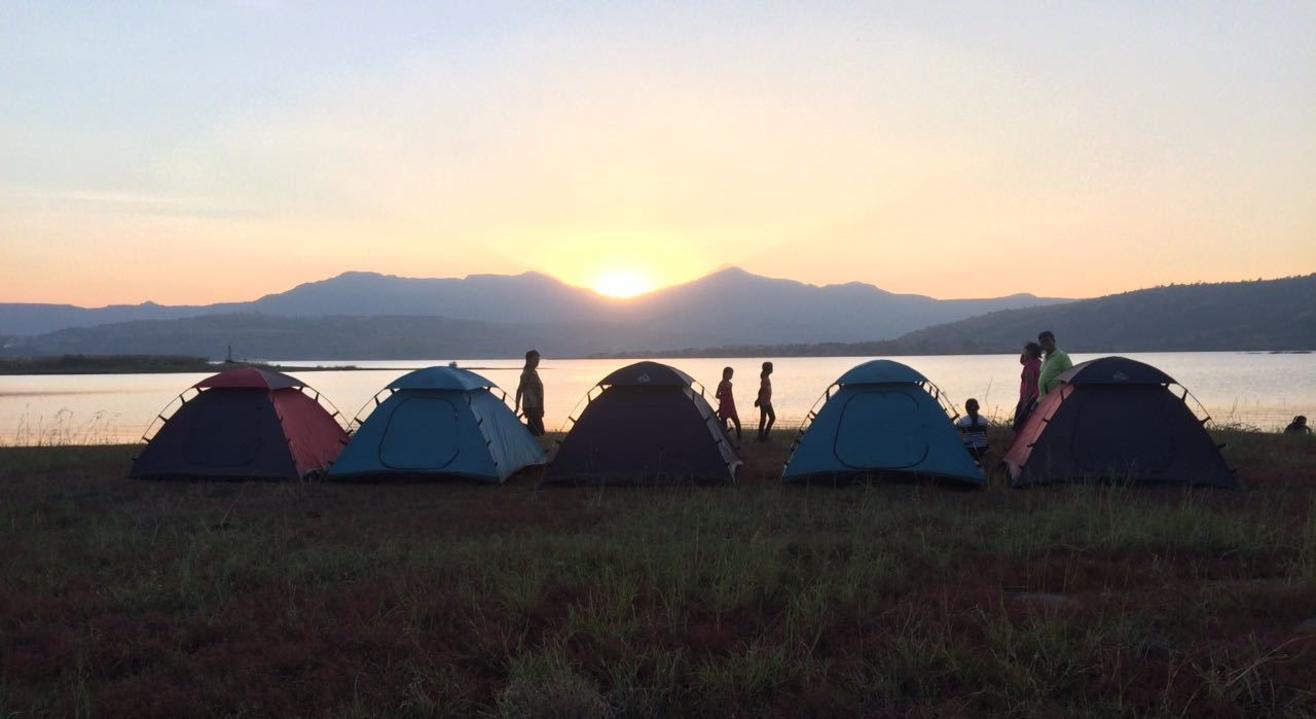 Camping at Pawna lake by Carvan Trips