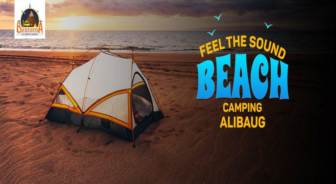 Feel the Sound - Beach Camping Alibaug