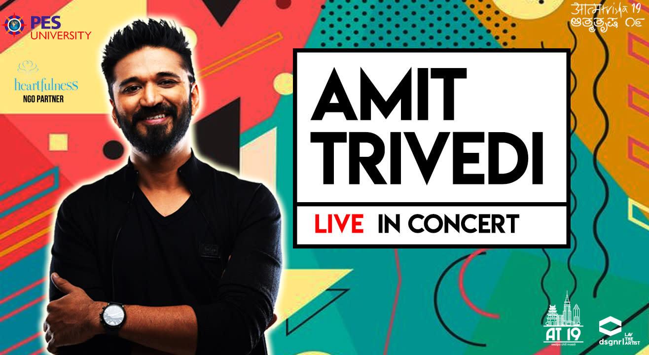 Amit Trivedi Live at Aatmatrisha 2019