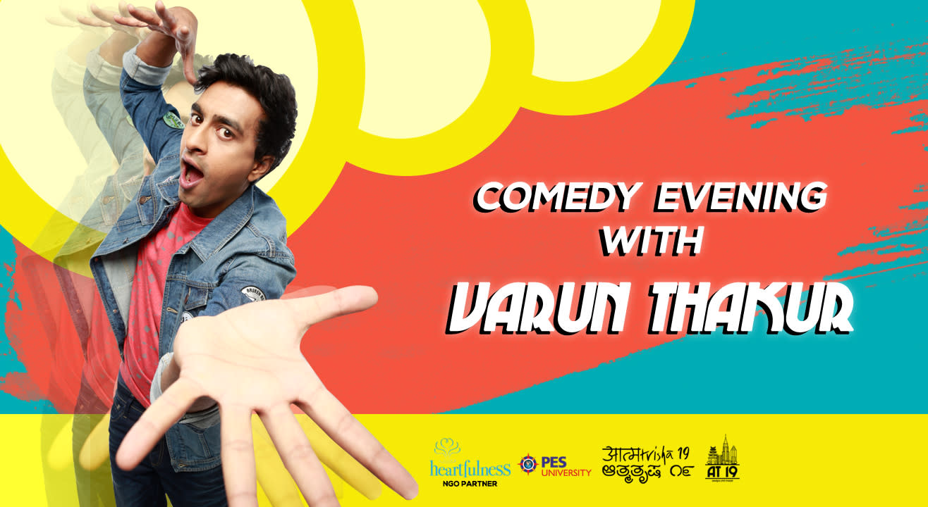 Comedy Evening with Varun Thakur at Aatmatrisha 2019