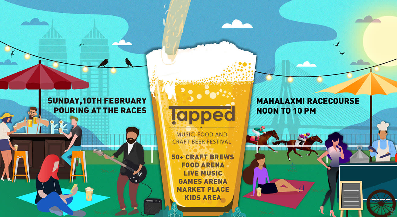 Tapped – Music, Food & Craft Beer Festival in Mumbai - 10th Feb 2019