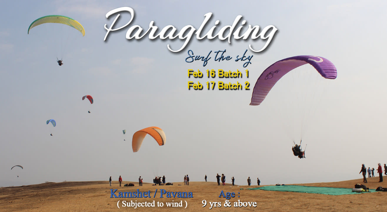 Paragliding-surf the sky B1