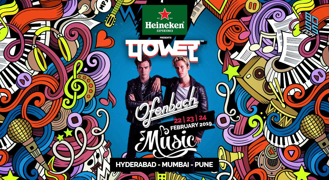 पOWEर Music tour with Ofenbach | Hyderabad