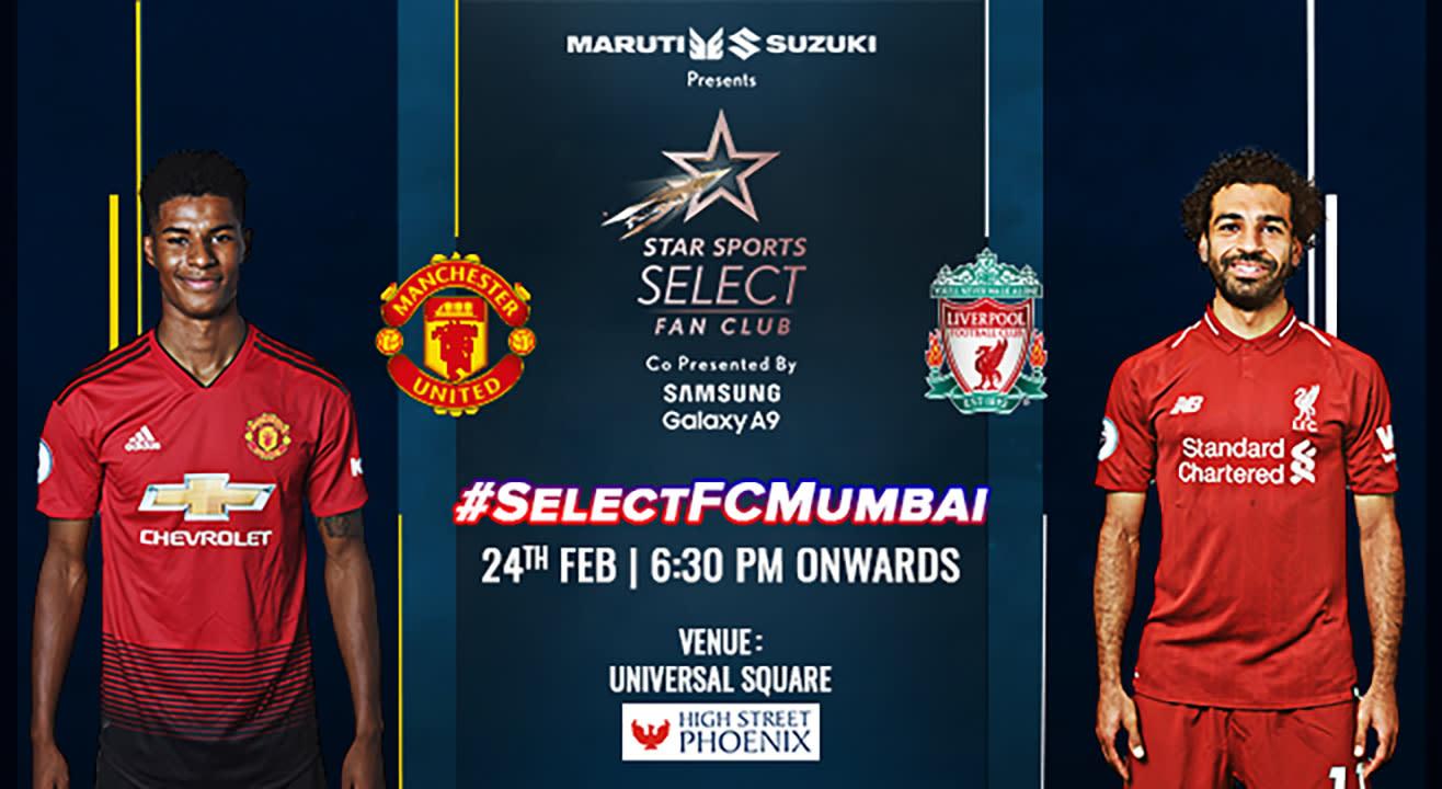 Selectfcmumbai Manchester United Vs Liverpool Live Screening