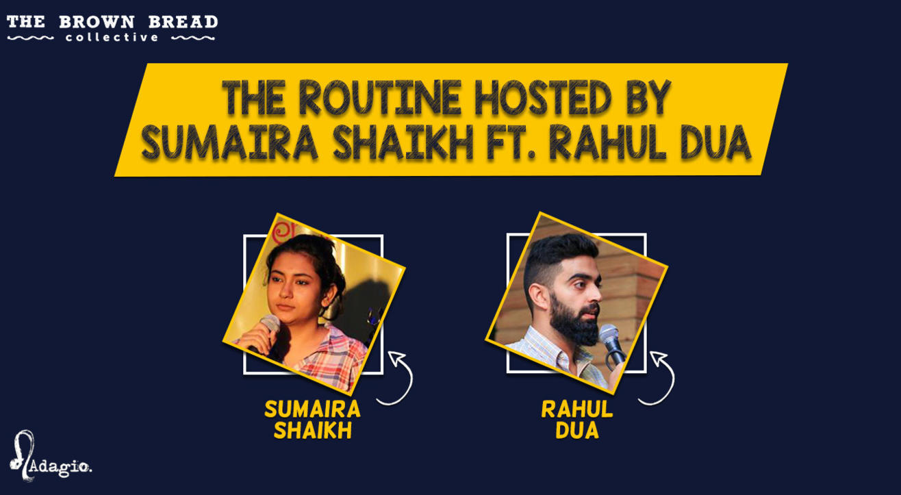 The Routine hosted by Sumaira Shaikh ft. Rahul Dua