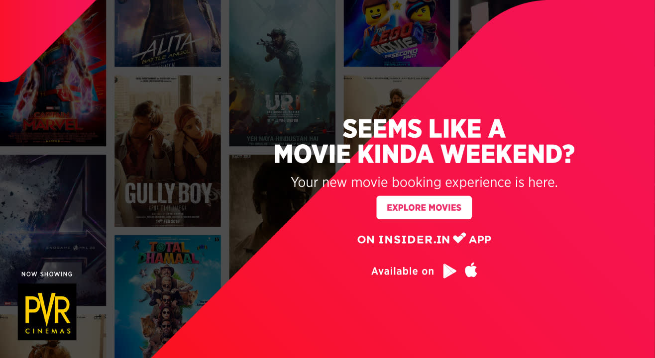 Say hello to movies on Paytm Insider app!