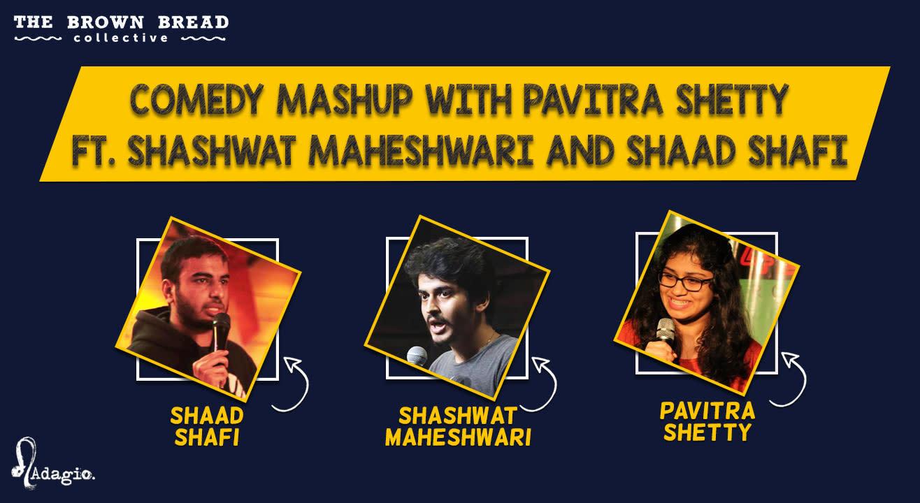 Comedy Mashup with Pavitra Shetty ft. Shashwat Maheshwari and Shaad Shafi