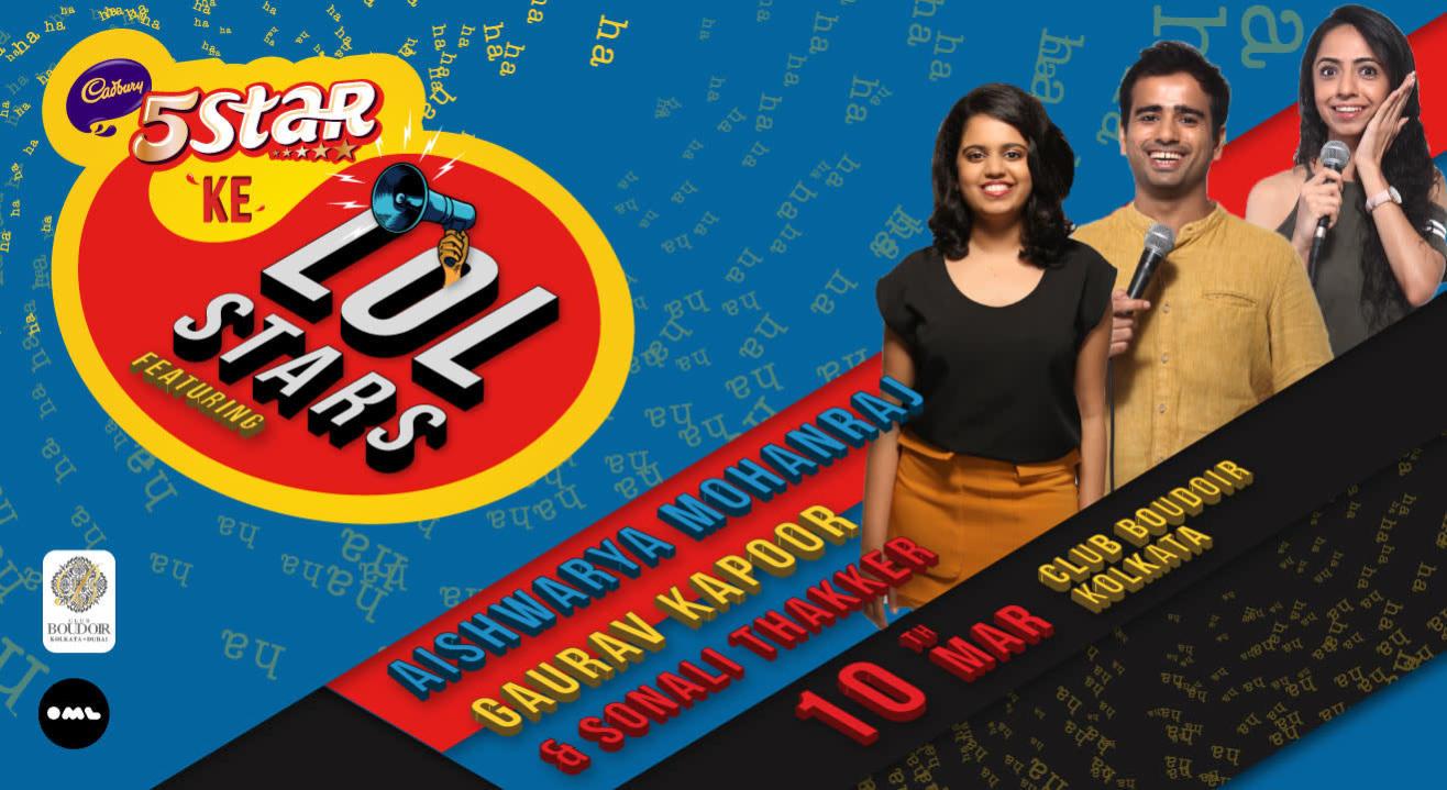 5 Star Ke LOLStars ft Aishwarya Mohanraj, Gaurav Kapoor and Sonali Thakkar, Kolkata