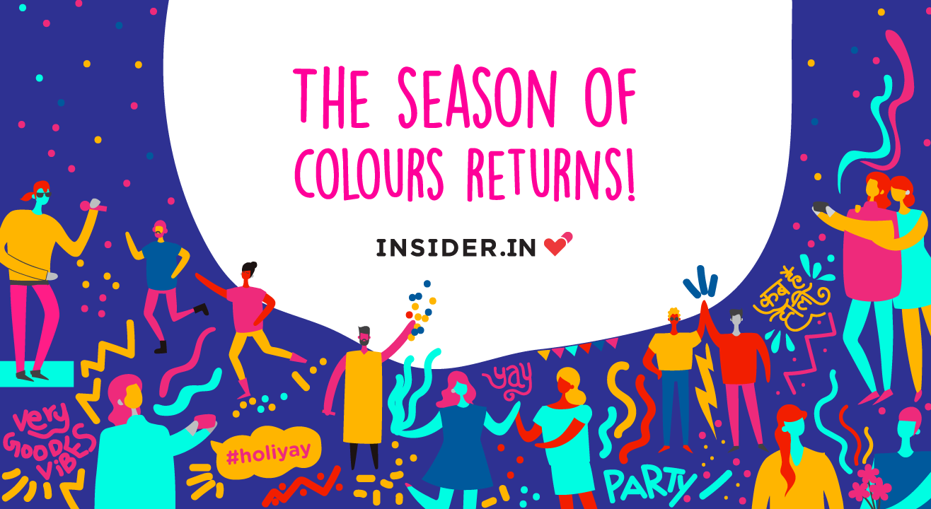 Yellow There! Check out Holi events & parties in Pune - Insider.in