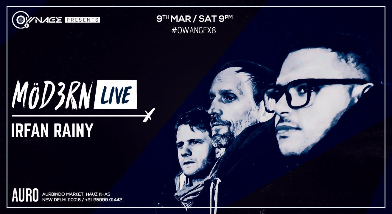 MÖD3RN Live – Delhi Leg with Irfan Rainy