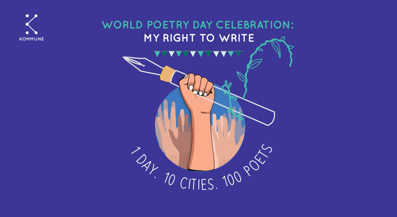 Seize the stage this World Poetry Day!