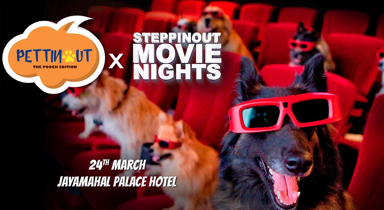 SteppinOut Movie Nights - PettinOut Edition