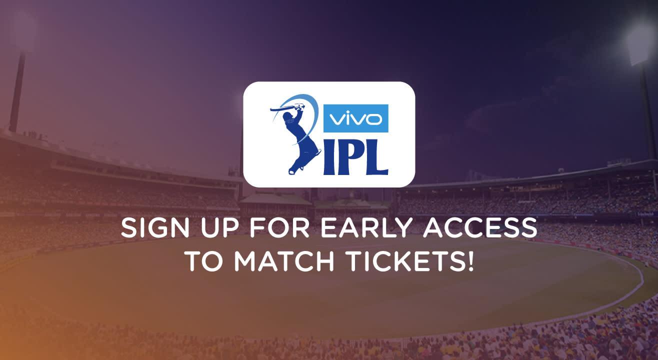 VIVO Indian Premier League 2019: Signup for updates