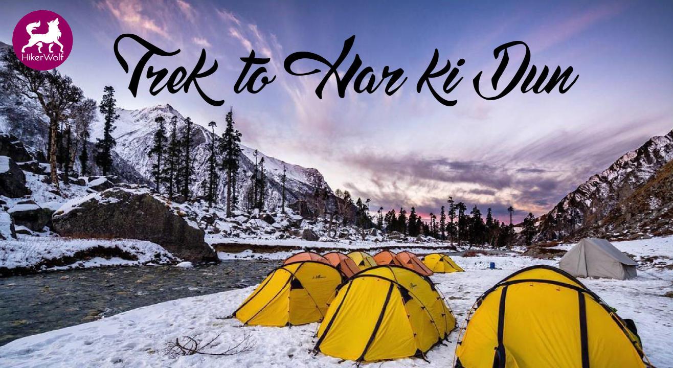 HikerWolf- Har Ki Dun Trek