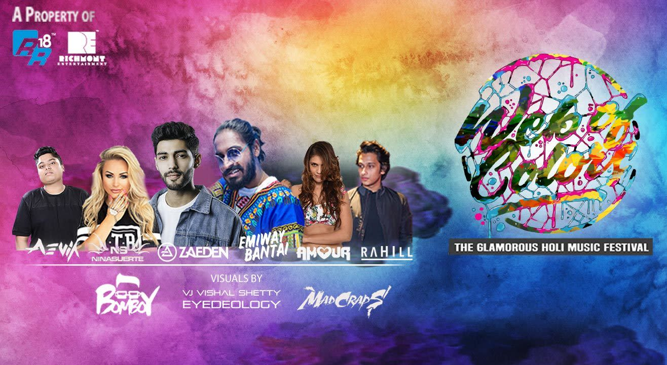 Web Of Colors 2019 - The Glamourous Holi Music Festival