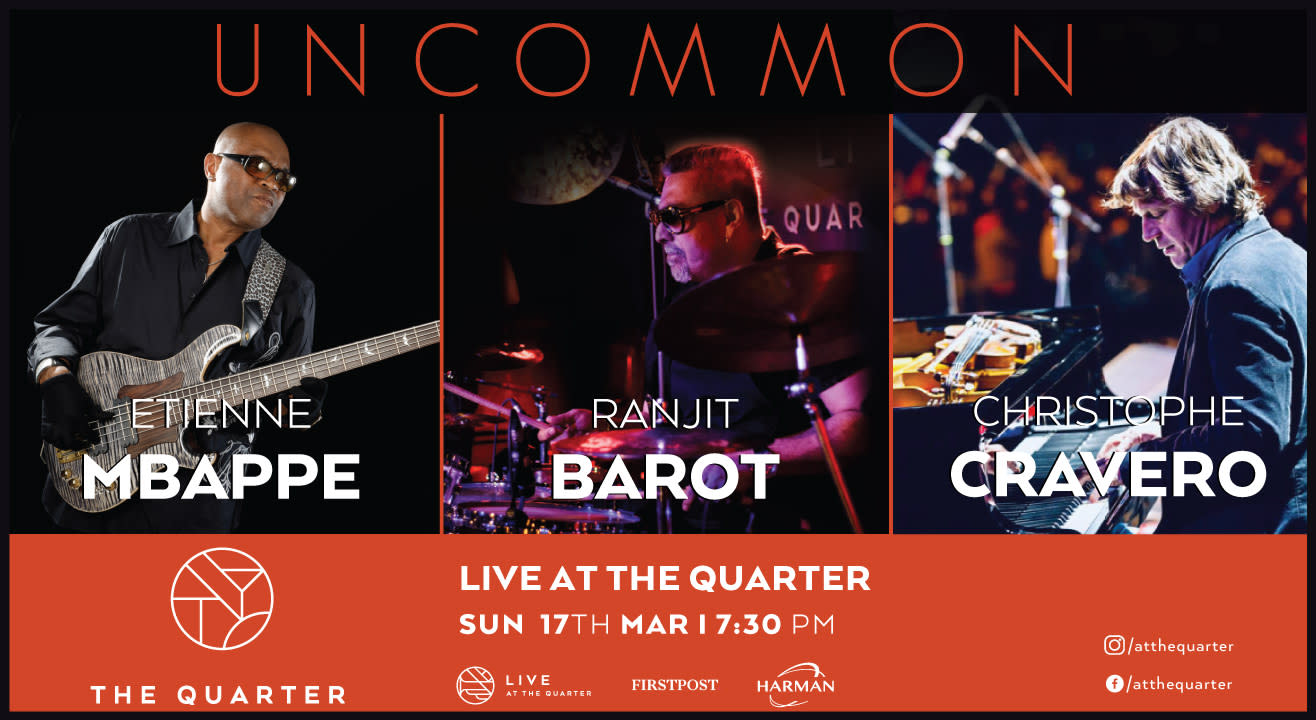 Uncommon with Ranjit Barot, Etienne Mbappe and Christophe Cravero