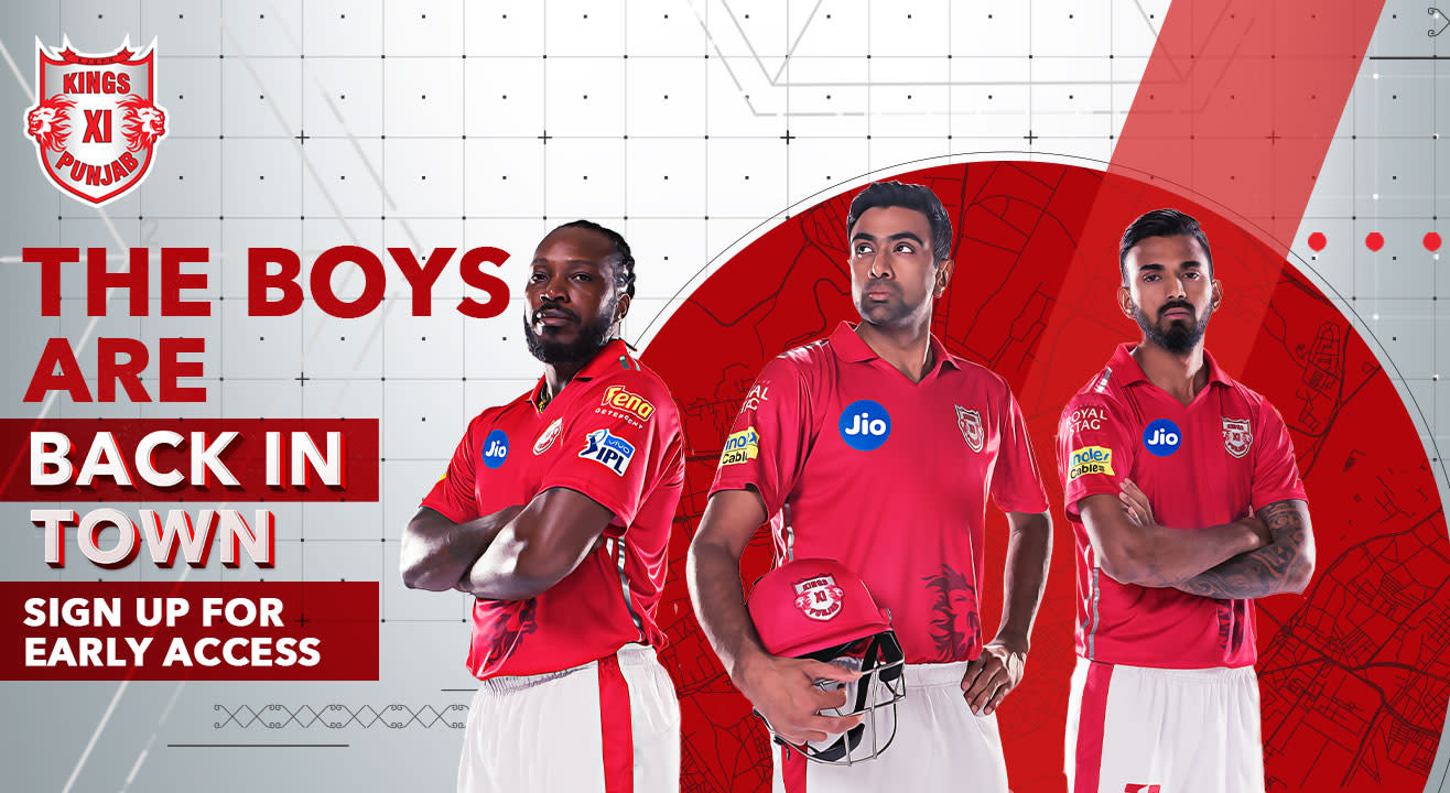 VIVO IPL 2019 - Kings XI Punjab: Sign up for access to other Home Games tickets!