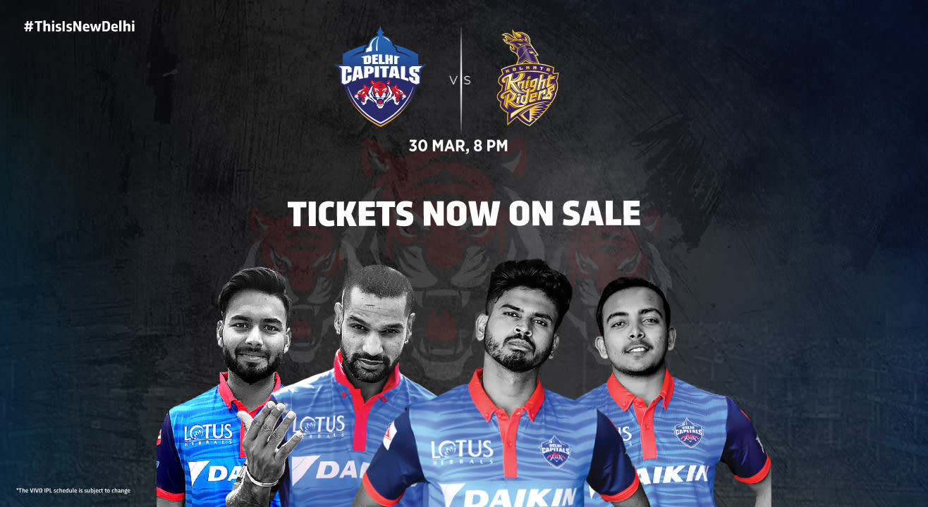VIVO IPL 2019 - Match 10 - Delhi Capitals vs Kolkata Knight Riders