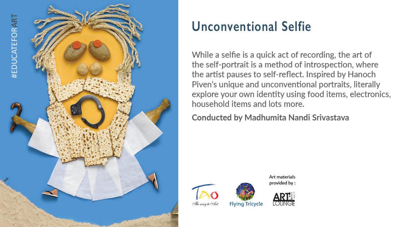 Unconventional Selfie