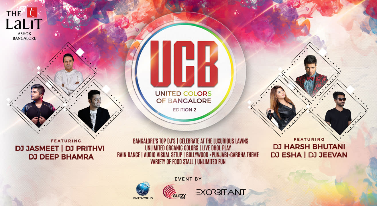 United Colors Of Bangalore - Edition 2 At The Lalit Ashok, Lawns