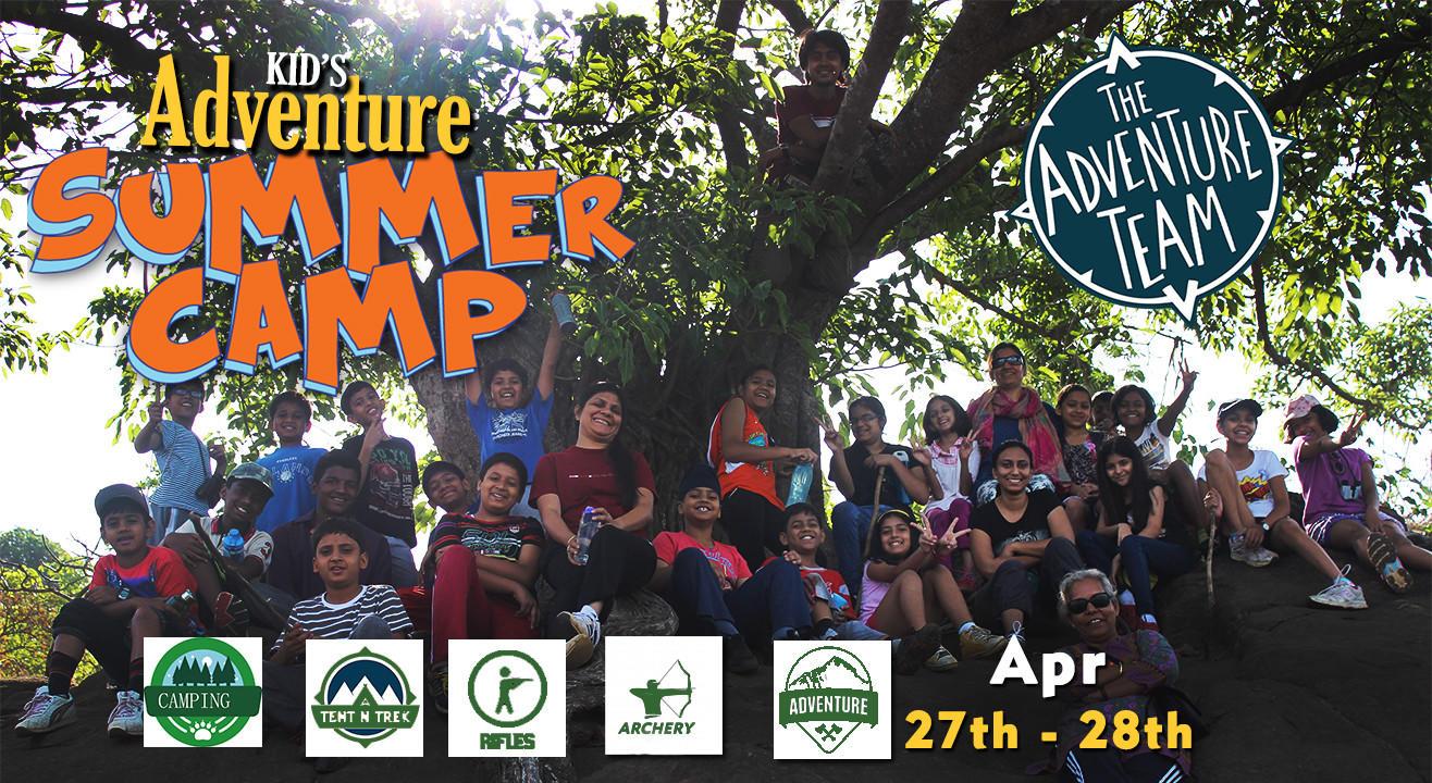 Kid's adventure summer camp - Batch 1