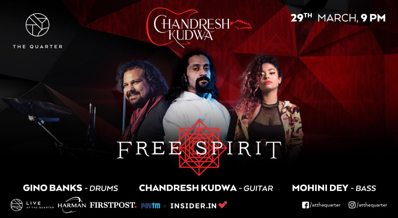 Chandresh Kudwa feat. Mohini Dey & Gino Banks at The Quarter