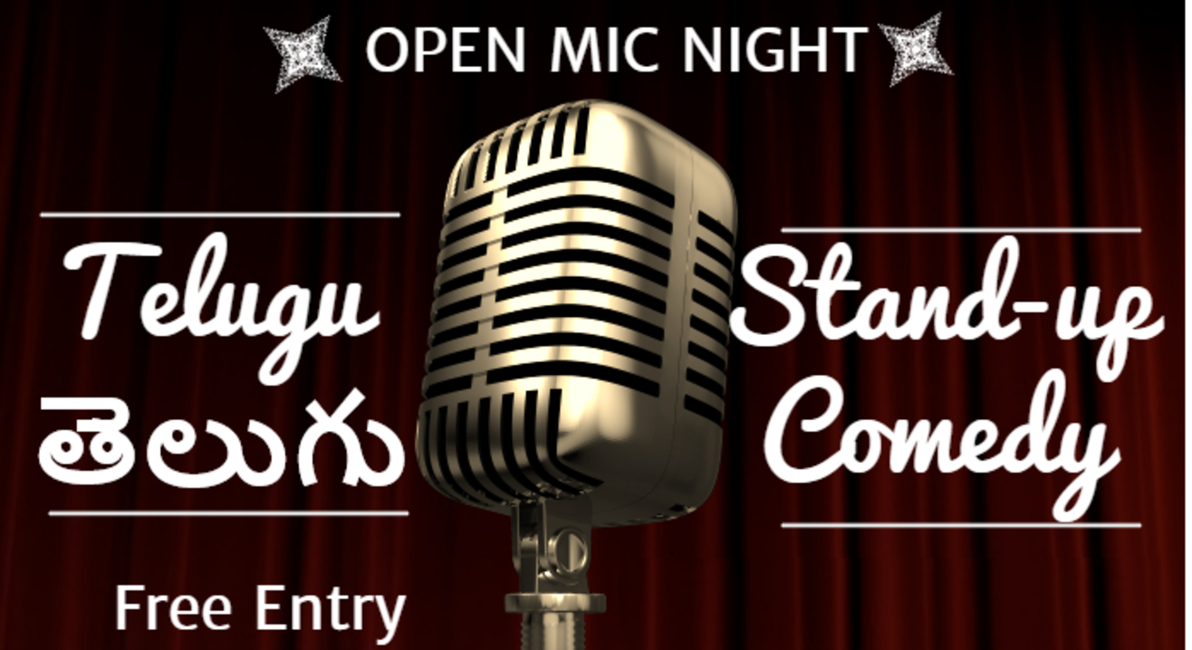 Telugu Stand-up Comedy Open Mic