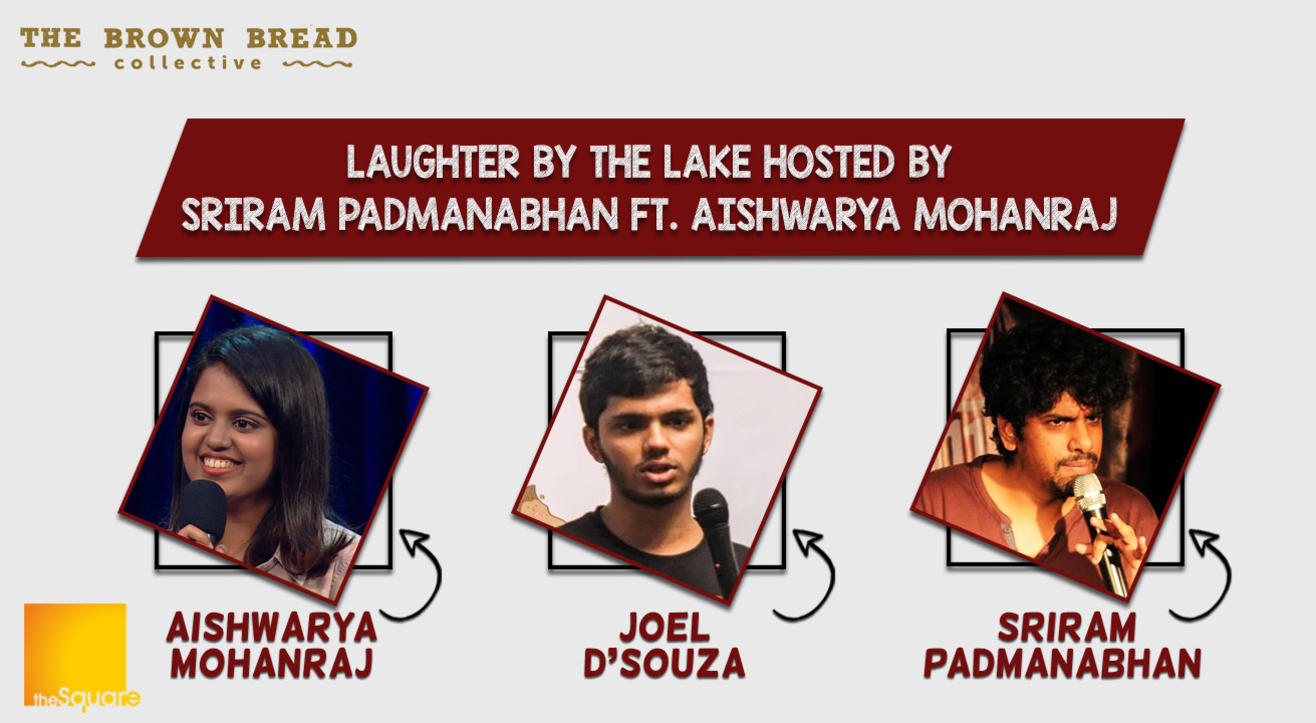 Laughter by the Lake hosted by Sriram Padmanabhan