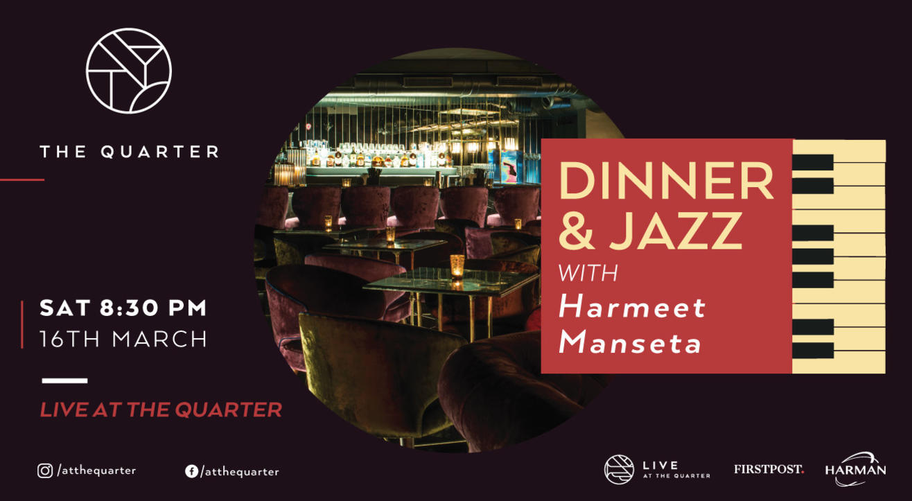 Dinner and Jazz with Harmeet Manseta