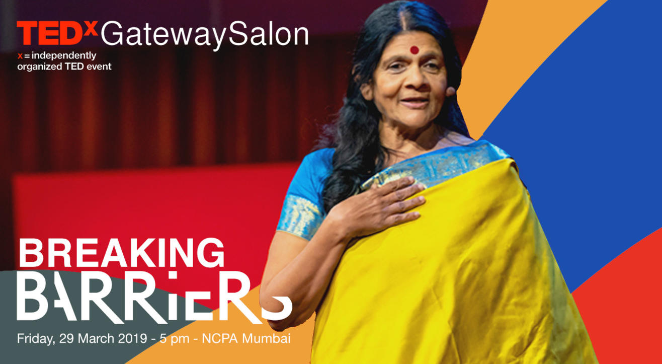 TEDxGatewaySalon – Breaking Barriers